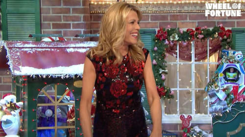 Vanna White Hosts 'Wheel of Fortune' While Pat Sajak Recuperates