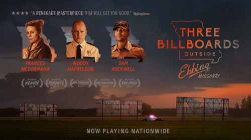 A Filmmaker's Review: 'Three Billboards Outside Ebbing, Missouri' (2017)