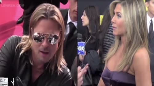 Brad Pitt and Jennifer Anniston Continue to Party Together