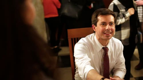 Congrat's Mayor Pete Buttigeig!