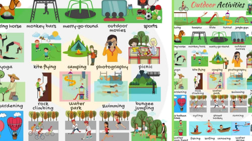 Outdoor Activities To Develop Speech And Language Skills