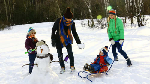 Family Activities During Winter