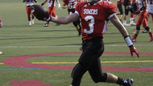 Somers Rides Four Matthew Pires Touchdowns to 28-6 Victory
