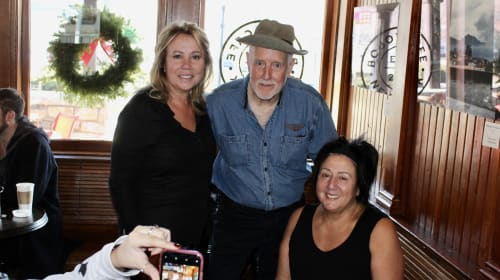 Bobo's Cafe in Chappaqua Hosts Brian Carney and his Father's Honeymooners Memorabilia