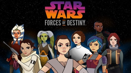 Web Series Wednesday: 'Star Wars Forces of Destiny' (2017-18)