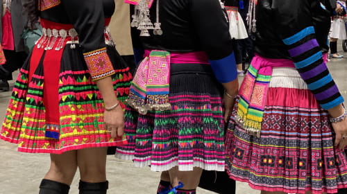 No ordinary skirt, the Hmong hidden story.