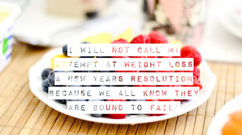 Weight Loss Confessional