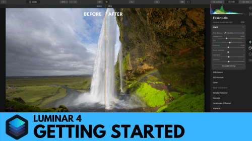 Getting Started With Luminar 4
