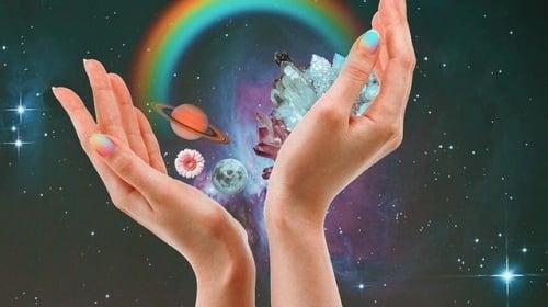 Moon & Crystal (A Swig of Medication)