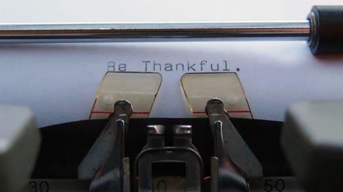 Becoming Thankful