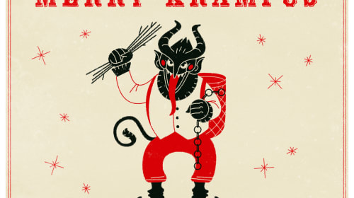 The Krampus Mindset And Ideas to Share