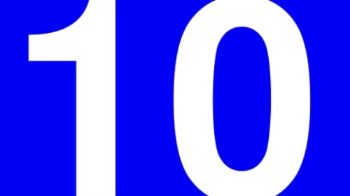The power of the number 10 to combat panic attacks and anxiety