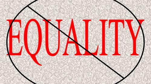 Man's Veiws on Equality
