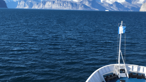 My experience of Living on a ship & left the world for 2 weeks while visiting the arctic with no cell or internet service