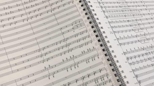 How to write music.