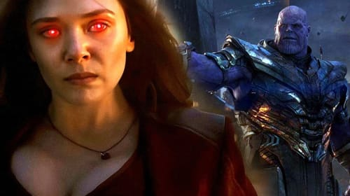 Captain Marvel v Scarlet Witch