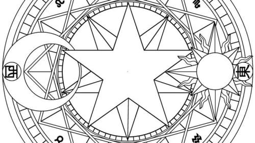Casting a magical circle
