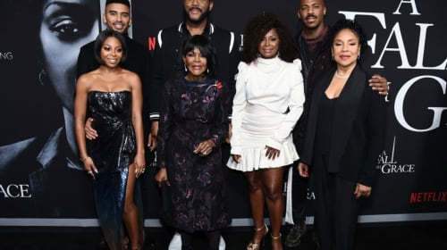 'A Fall From Grace': Tyler Perry's First Movie on Netflix