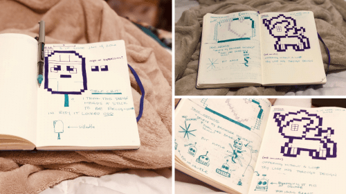 5 Tips on Discovering Your Creative Process via a Journal (Bujo)