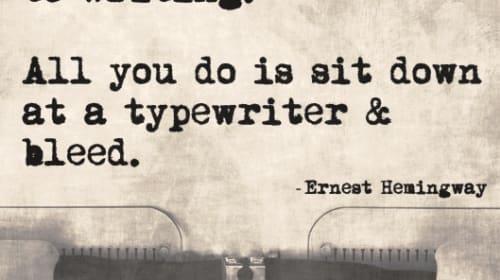 A Writer's Vulnerability