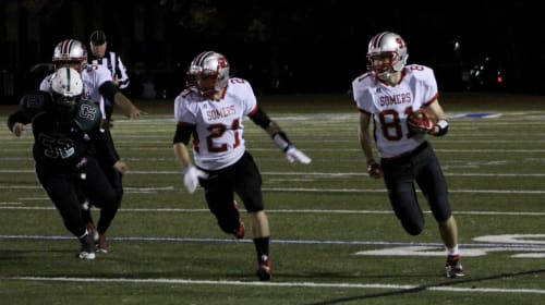 Somers Wipes Away Earlier Defeat with 42-6 Victory over Yorktown