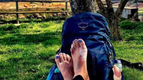 The Dreaded Blisters. Caring For Your Feet On The Camino De Santiago