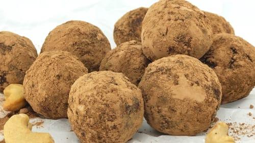Vegan Choc Protein Truffles
