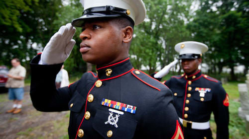 Marine Corps Stories: Mr. All-Star Recruiter