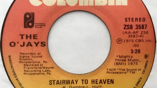 The O'jays Stairway to Heaven has been our Love Song for 44 years