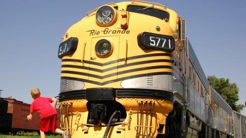 Colorado Railroad Museum Photo Gallery of Locomotives and Trains