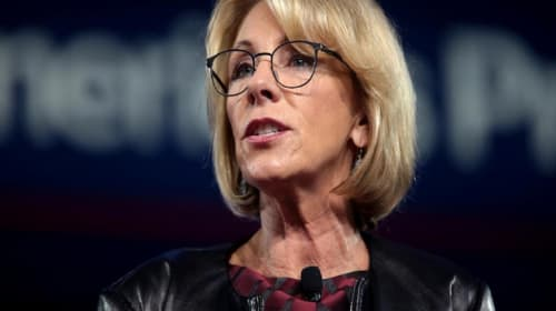 Betsy DeVos' Idiotic American Slavery Comparison to Pro-Choice is Dead Wrong