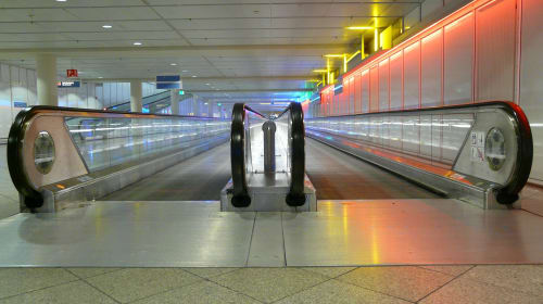 The Neon Travelator
