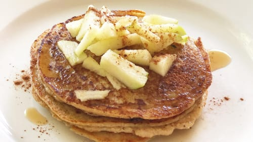 Four Ingredient Protein Pancakes