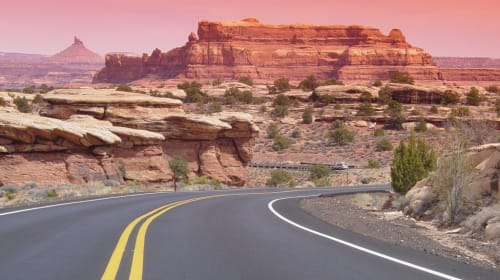 Winding Roads of the Western U.S. - Pictures of the West