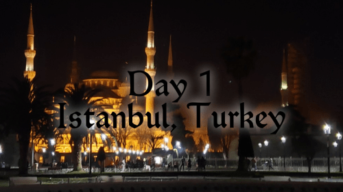 Diary of a Week in Istanbul