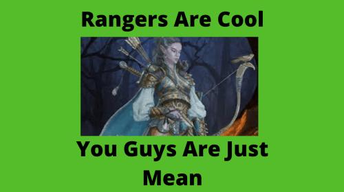 A Defense of Rangers in D&D 5e