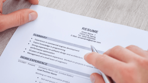 Creating a Professional Resume for English as a Second Language Learners