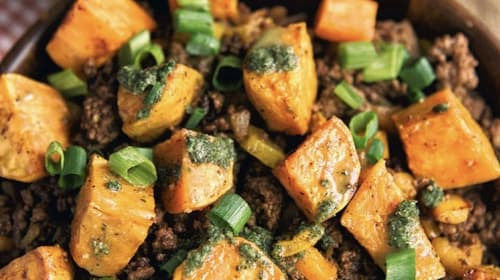 Amazing Sweet Potato Beef Bowl Recipe