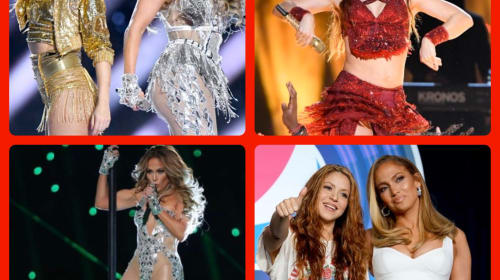 The Controversies From Shakira and J-LO