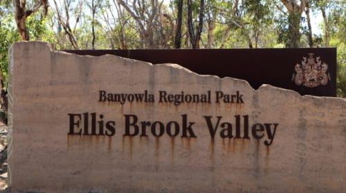 Hiking at Ellis Brook Valley, Gosnells, Western Australia