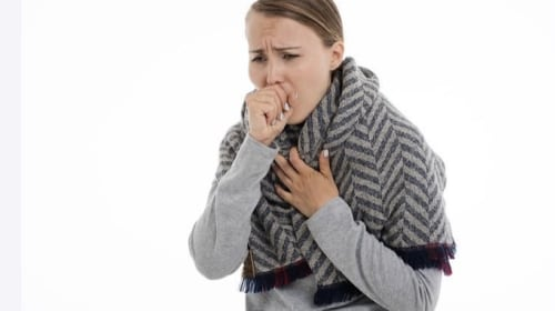 Coughing and sneezing into your hands spread germs