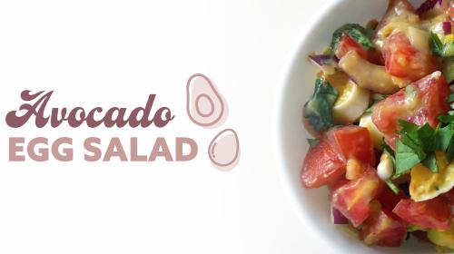 Kourtney Kardashian's Avocado Egg Salad