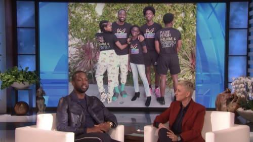 Dwayne Wade Shows How LGBTQ+ Parents Should Be