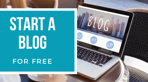 Start A Blog For Free In 2020