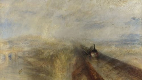 Rain, Steam and Speed, by J M W Turner