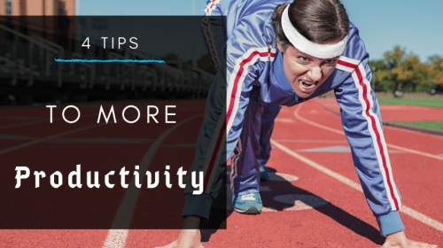 4 Tips To Be More Productive and Focused (Crush Your Goals)