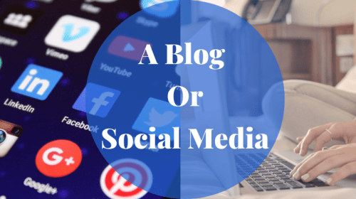 Should I Blog On Social Media or Create My Own Blog?