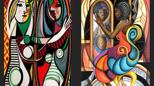 Influenced By Picasso, But Not Like Picasso