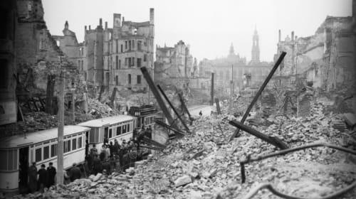 The Bombing of Dresden, 1945