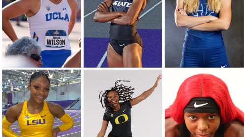 Track Stars App National Athletes of the Week
